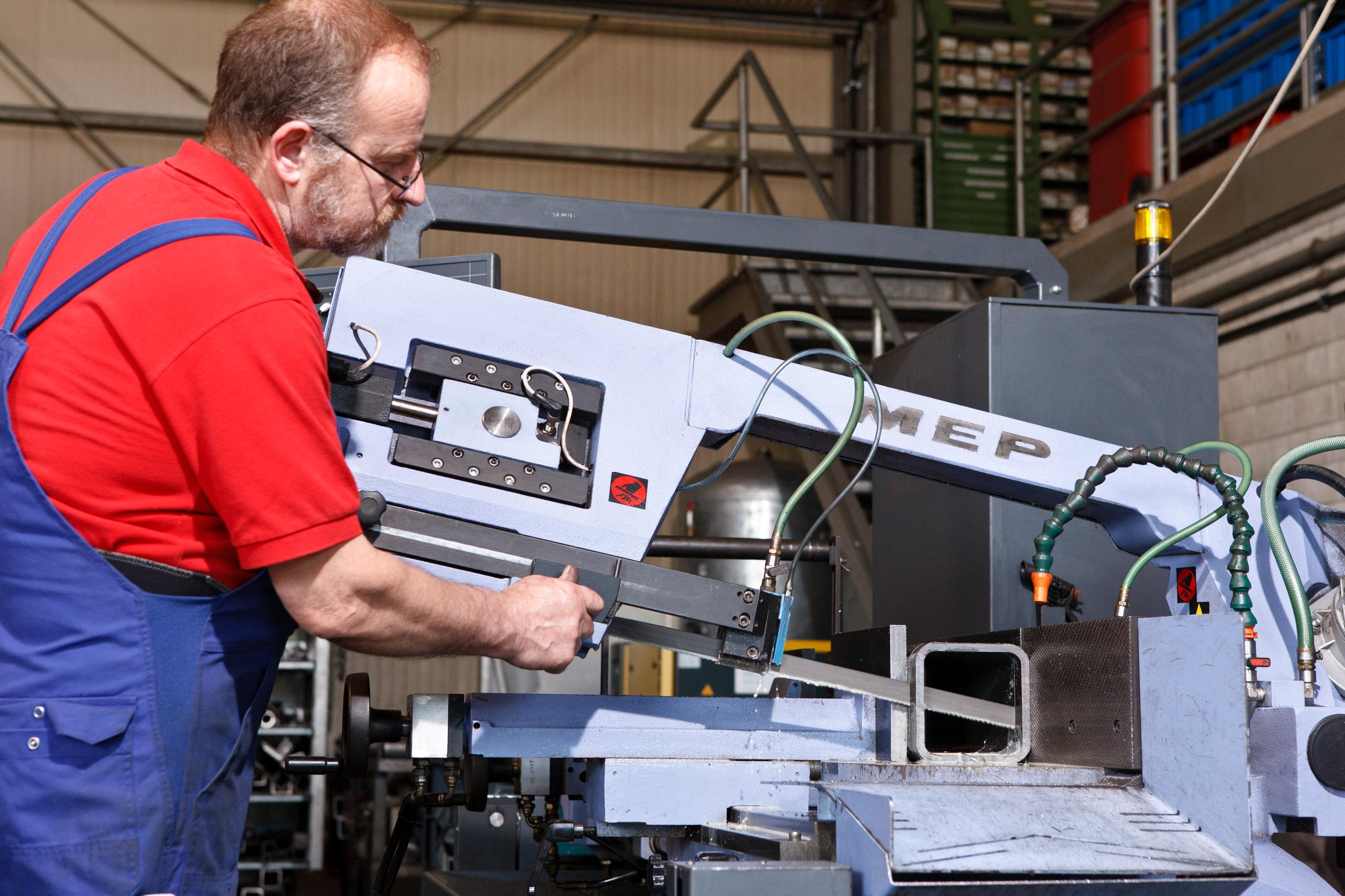 Fertigung von individuellen Komponenten durch Mutter Metalltechnik in Wutöschingen.